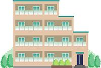 賃貸式の集合住宅
