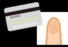 カードタイプと指紋認証タイプの電子キー